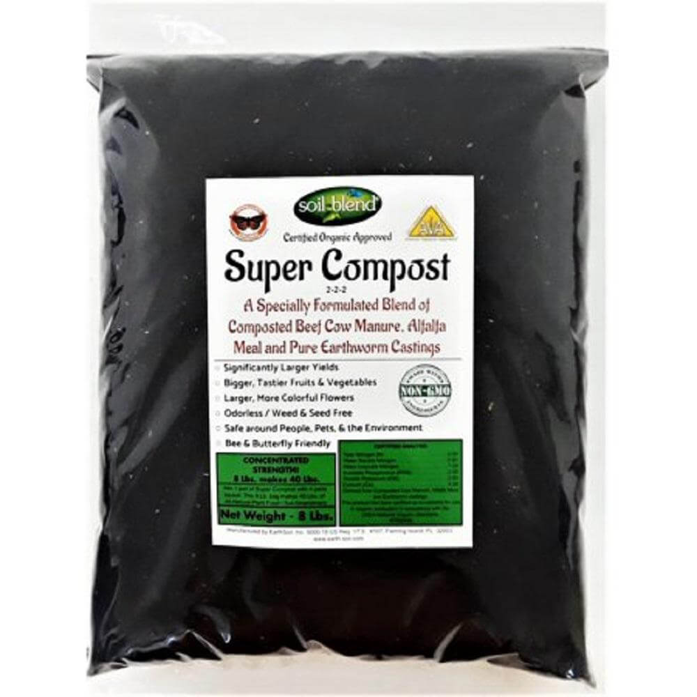 Compost is a must when you are preparing your garden for flowers.