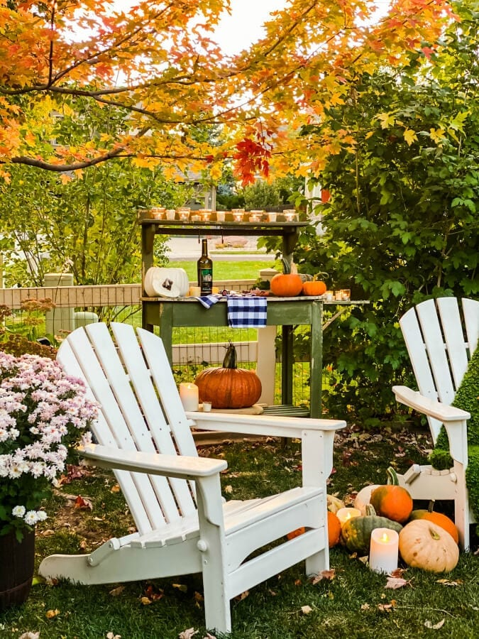 Welcome Home Sunday: A Fall Evening in the Garden!