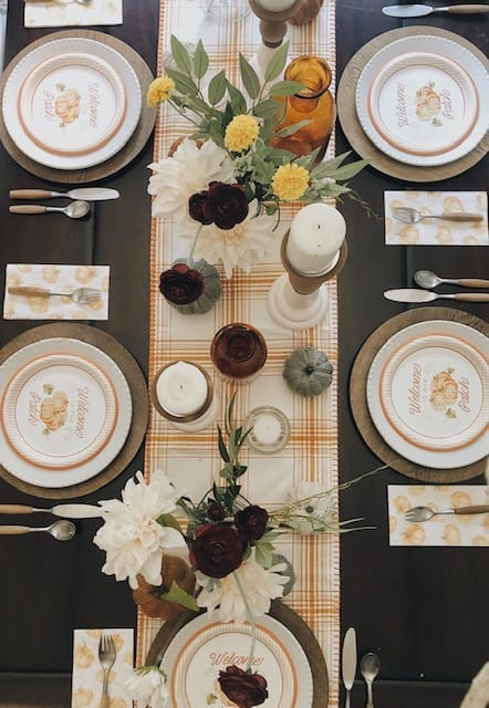 Welcome Home Sunday: A Fall tablescape in 5 easy steps.