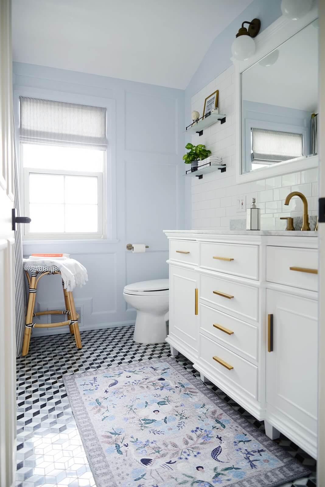 Bathroom Inspiration from Jen at Rambling Renovators