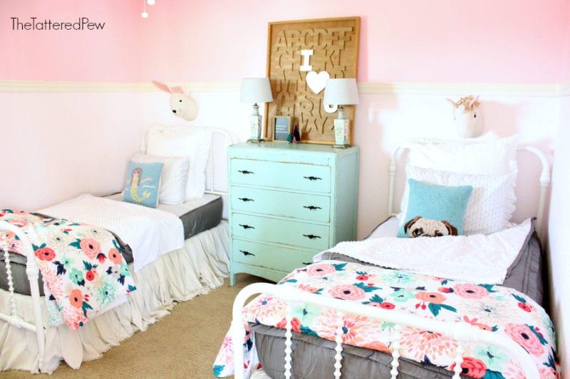 Beddy's bedding for a littel girls room. #girlsbedding