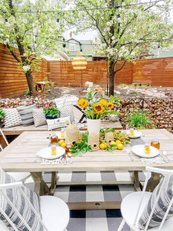 Welcome Home Saturday: DIY Beehive and Beehive backyard Inspo