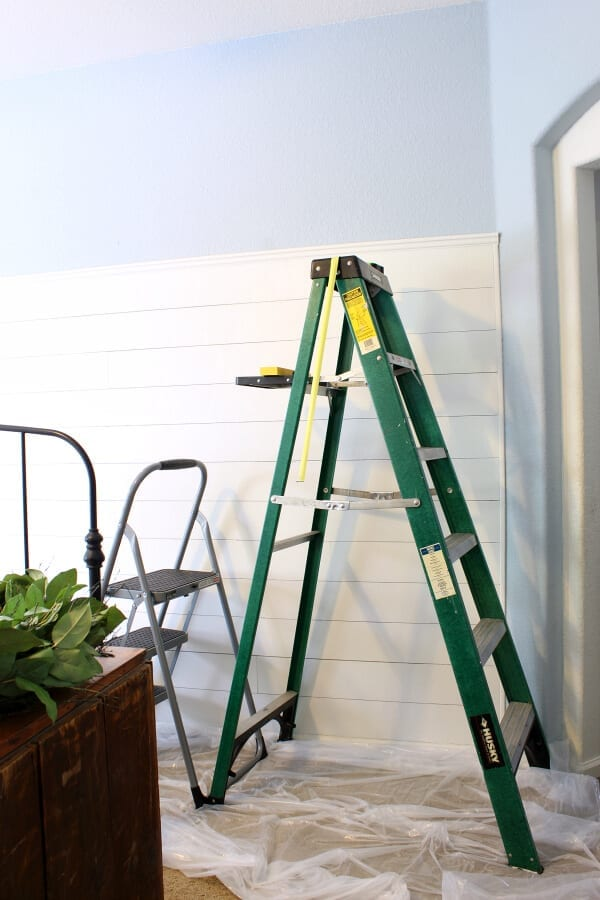 Do you wonder where to start your wallpaper? I share all of my wallpapering tips!