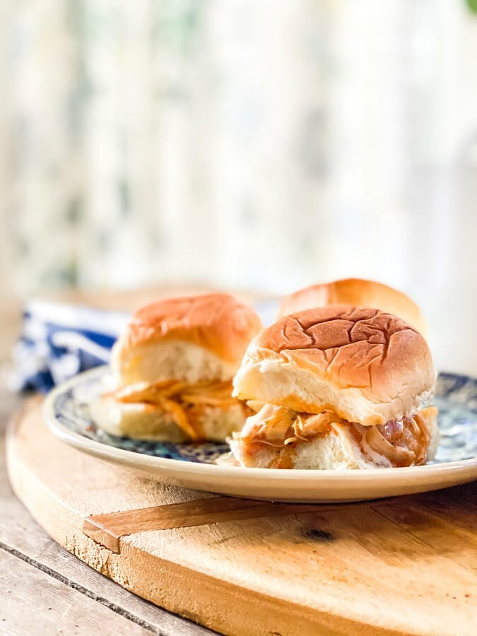 The Best Crock Pot Buffalo Chicken Ranch Sliders