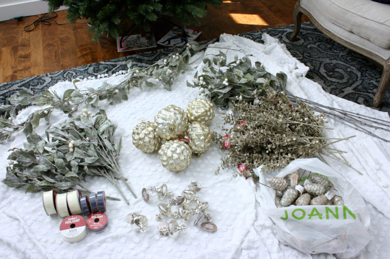 What you need to decorate your tree.