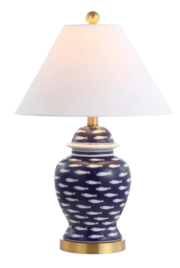 School of fish lamp from Home Depot