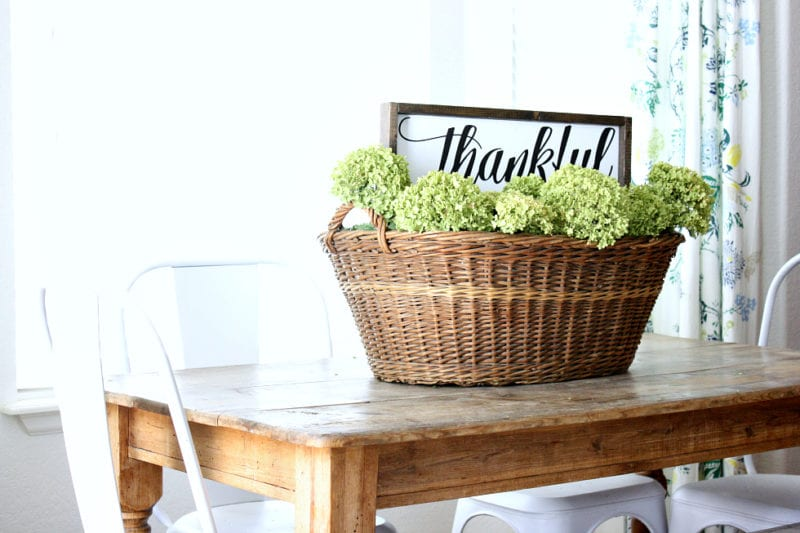 How to decorate your home using basket.