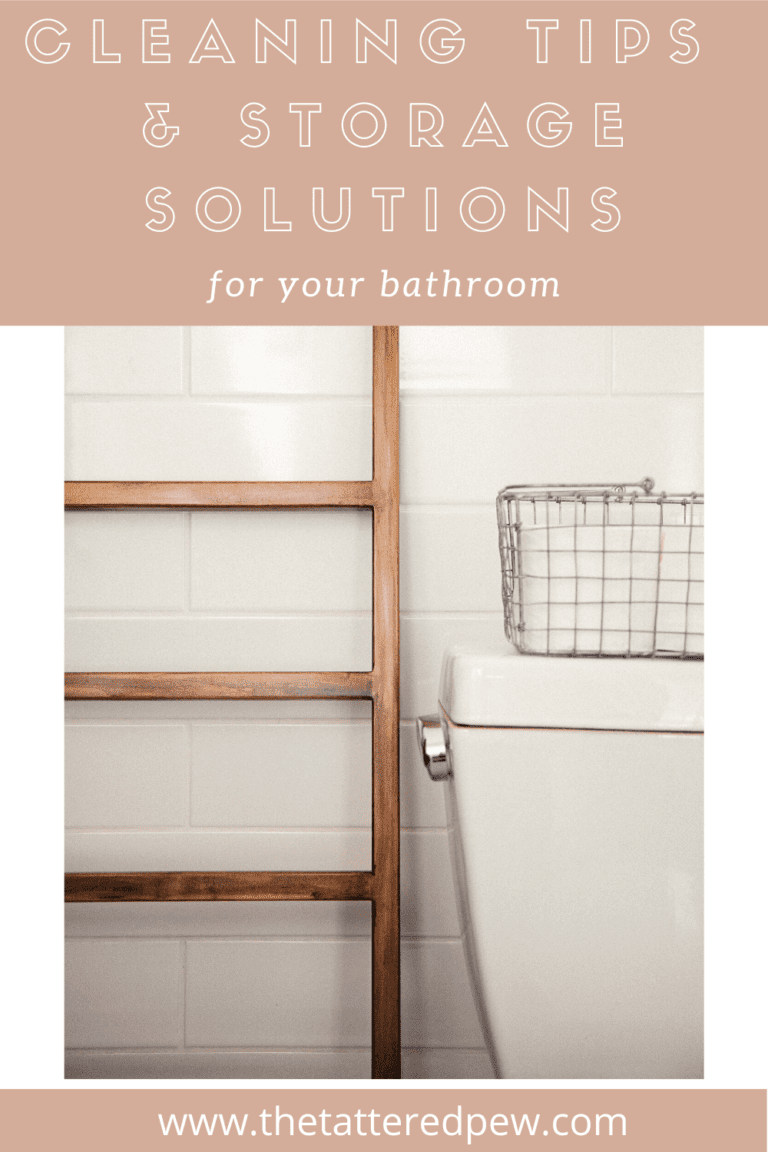 Spring Cleaning Tips and Storage Solutions for Your Bathroom