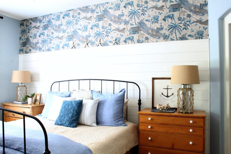Our Coastal Cottage Master Bedroom Makeover with Wayfair