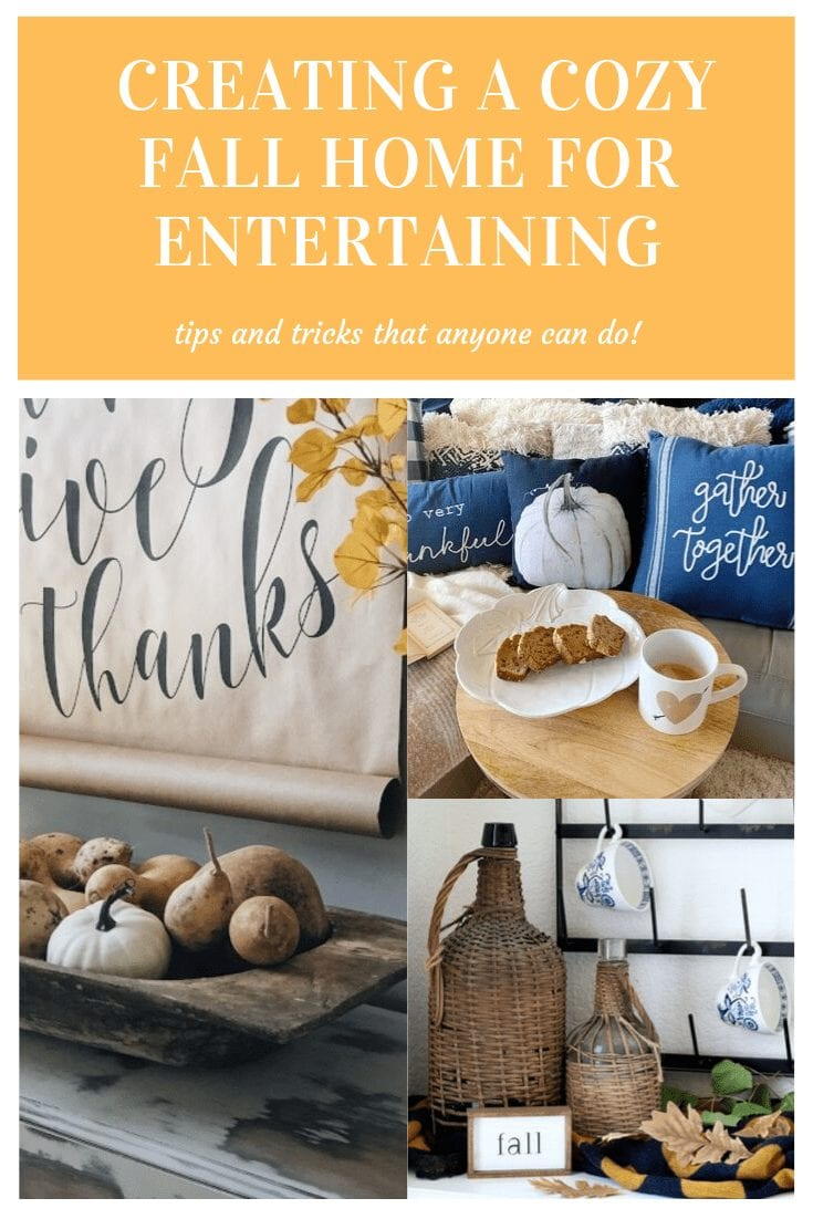 Tips and Tricks for Creating a Cozy Fall Home for Entertaining