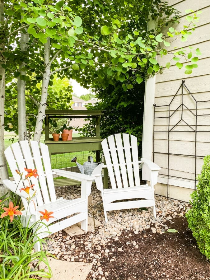 Creative Backyard Landscaping Ideas On A Budget The Tattered Pew