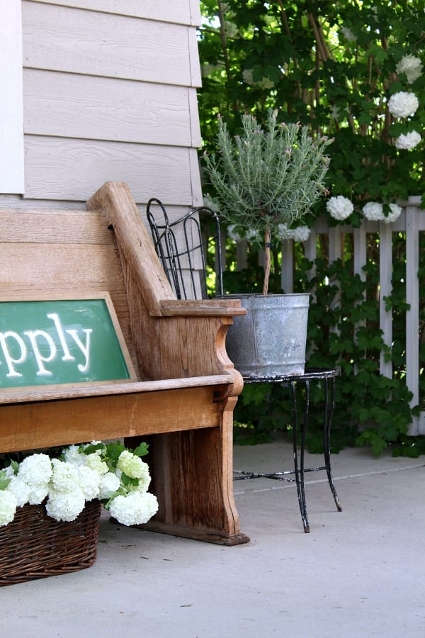 Easy Summer Porch Ideas The Tattered Pew