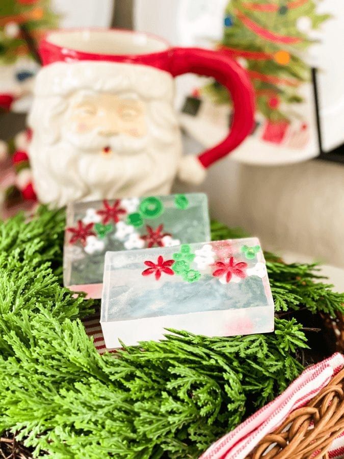 You will love how fun these easy homemade Christmas soaps for kids are to make!