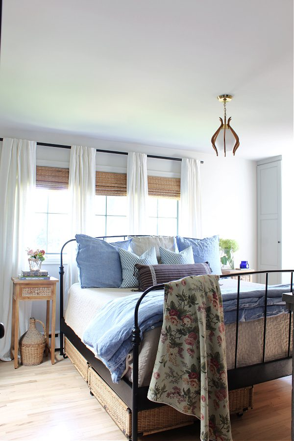 Fall in our master bedroom, Coastal, cottage style.