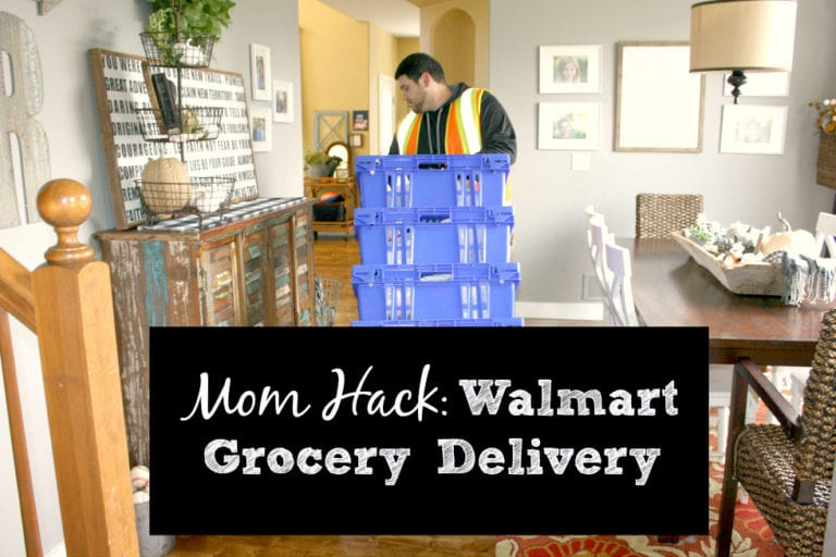 Mom Hack: Walmart Grocery Delivery!