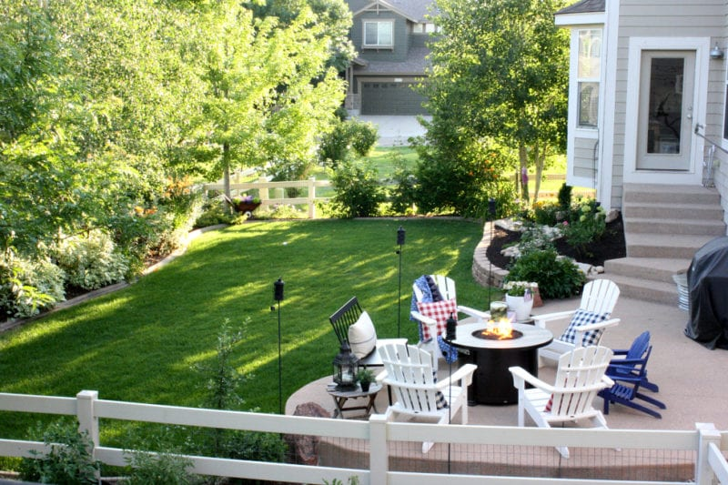 Backyard spaces that can be enjoyed all summer!