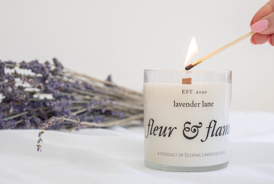 Welcome Home Sunday : Fleur & Flame Candle Co.