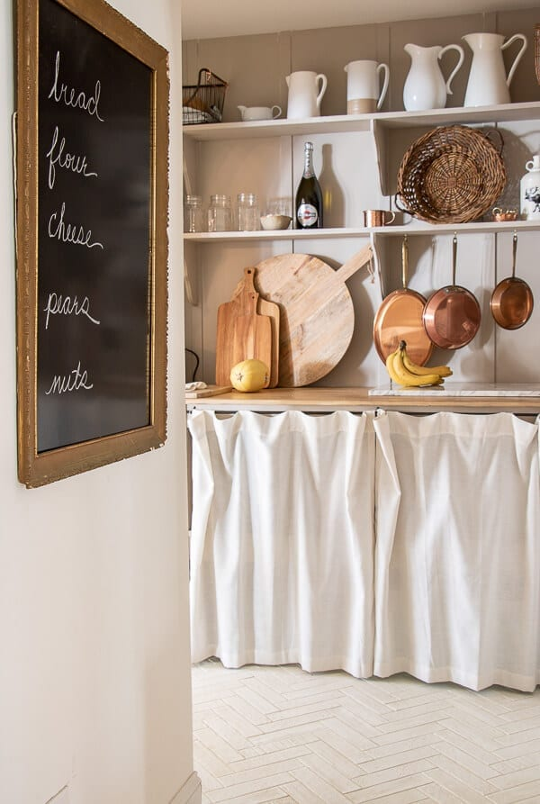 Welcome Home Sunday: DIY French chalkboard