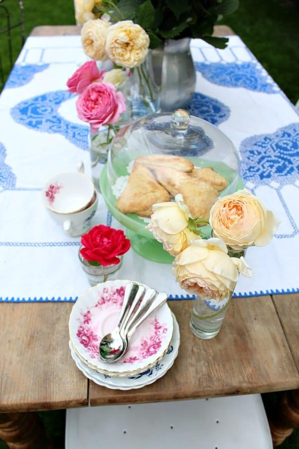 TIme for a garden tea party.