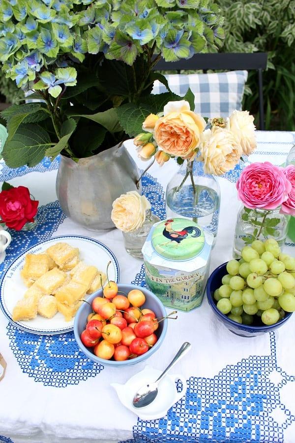 A fun garden tea party is always a good idea!