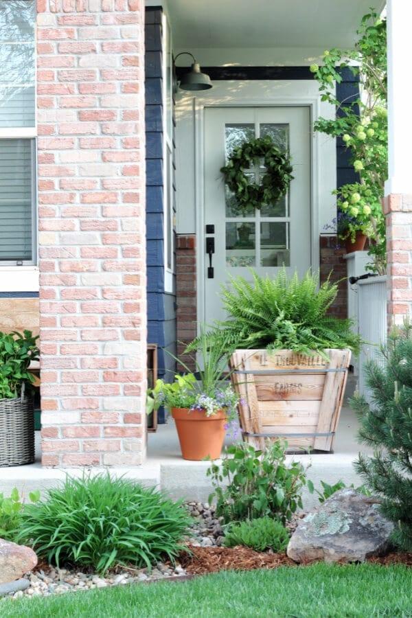 Summer Porch Pots