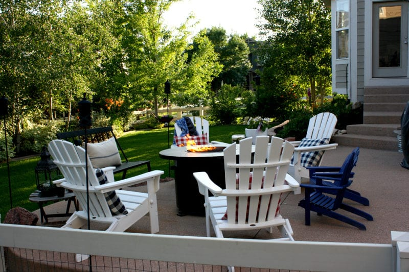 Our backyard sanctuary and patio in style and comfort.
