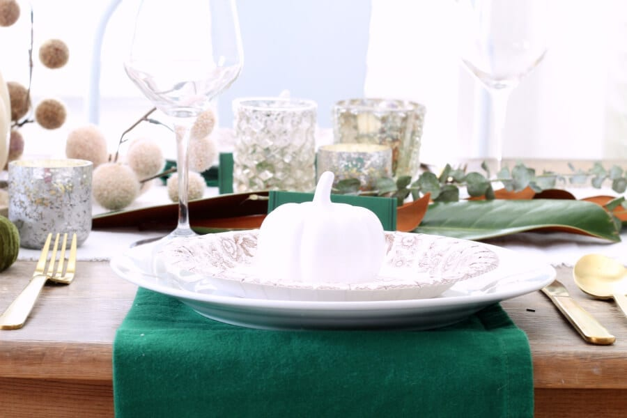 The place settings at a table can make all the difference!