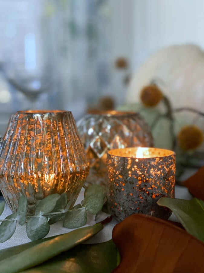 Candles are the perfect addition to any holiday table!