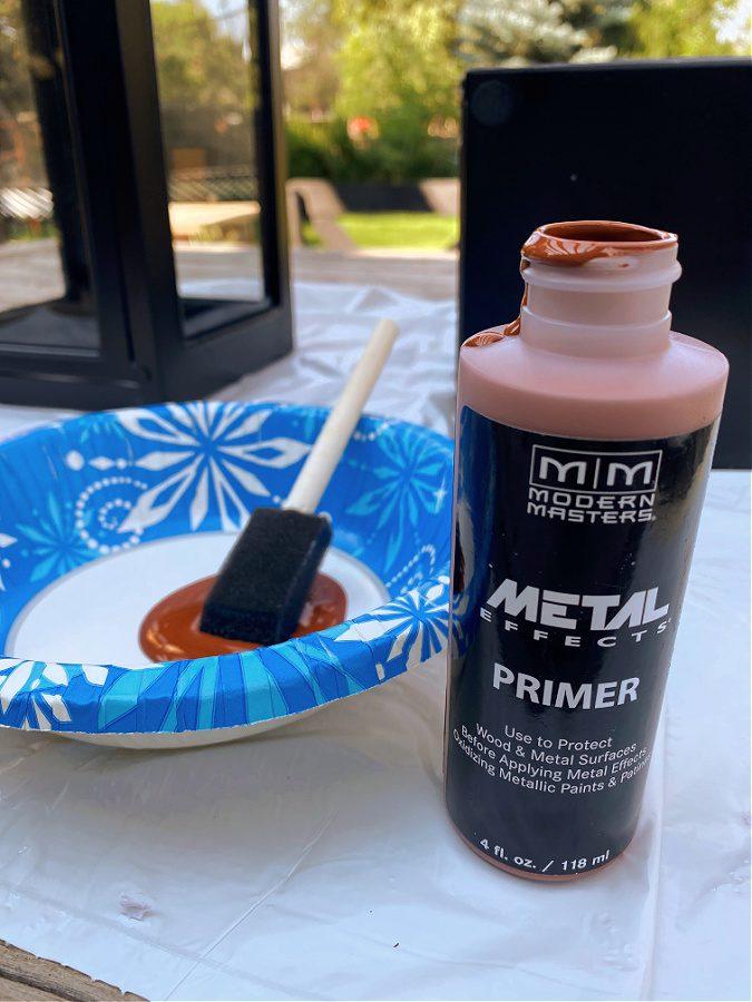 Metal Effects copper primer