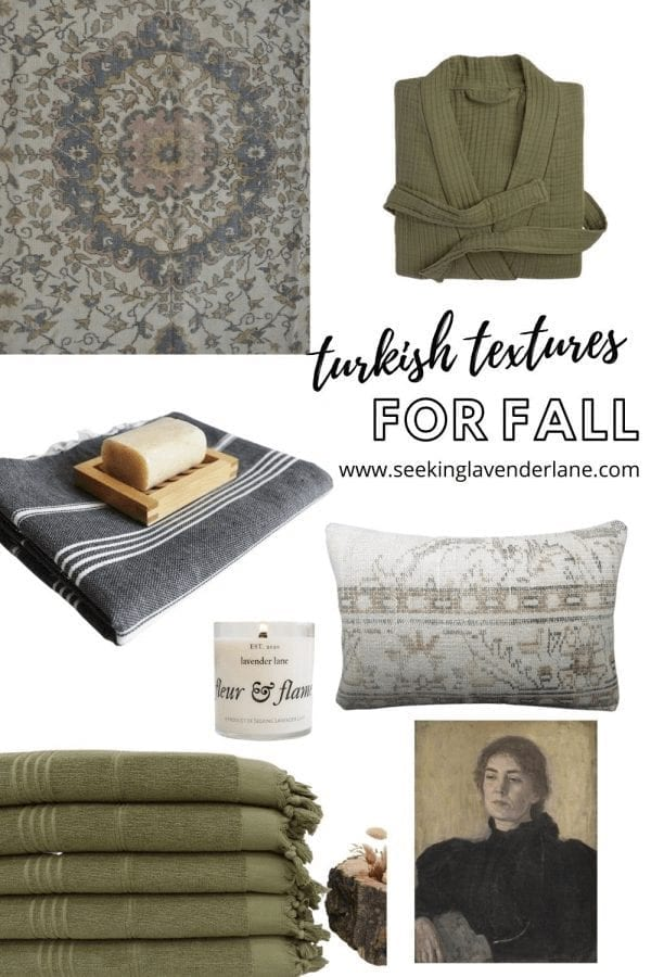 Welcome Home Sunday: Turkish Textures for Fall