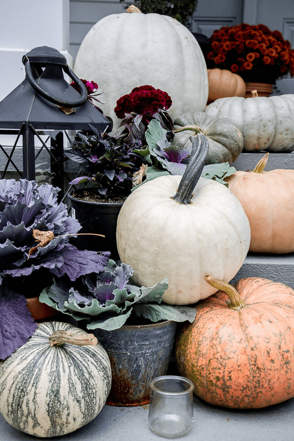 Welcome Home Sunday: Fall porch decor
