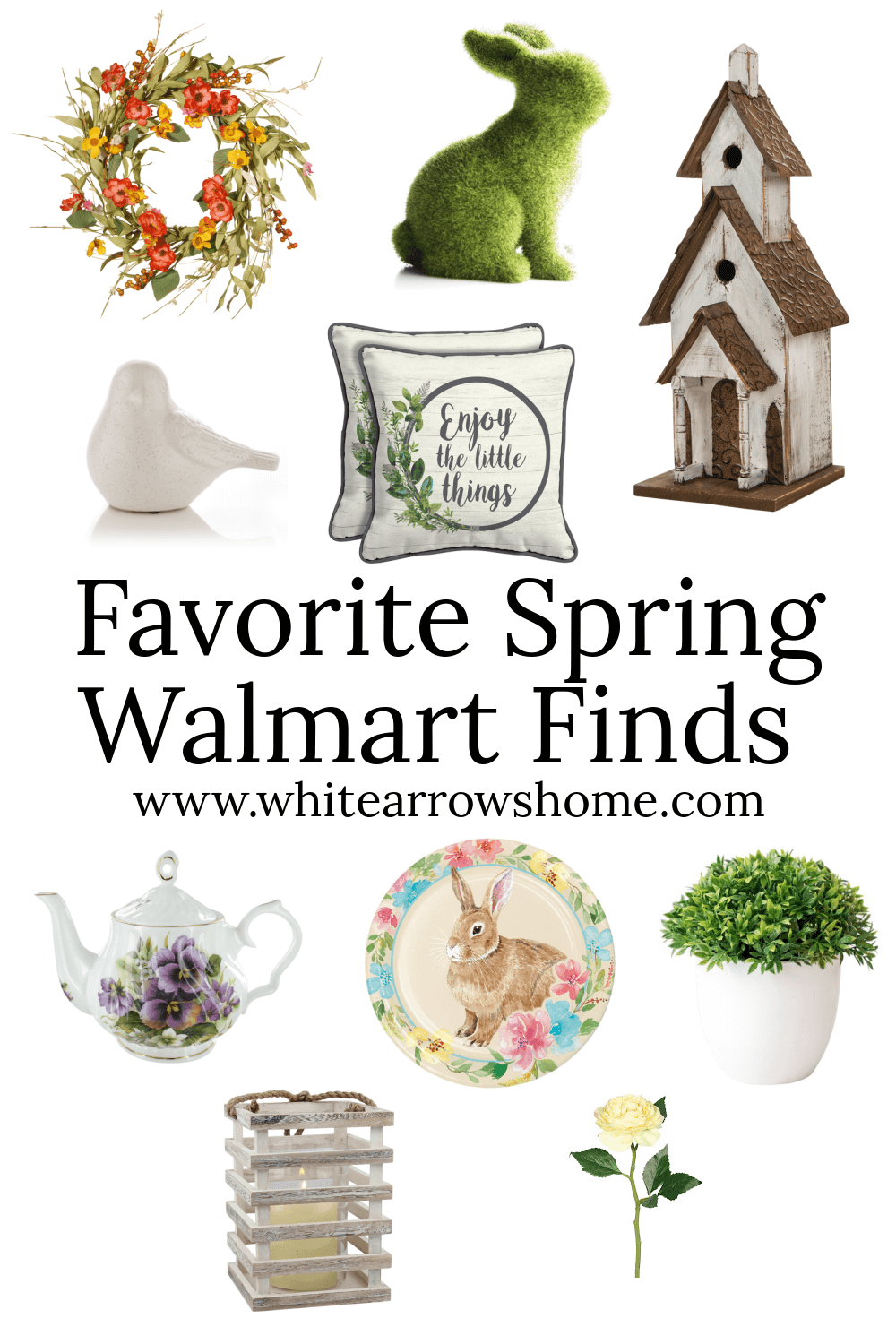 Welcome Home Saturday: Spring Walmart Finds