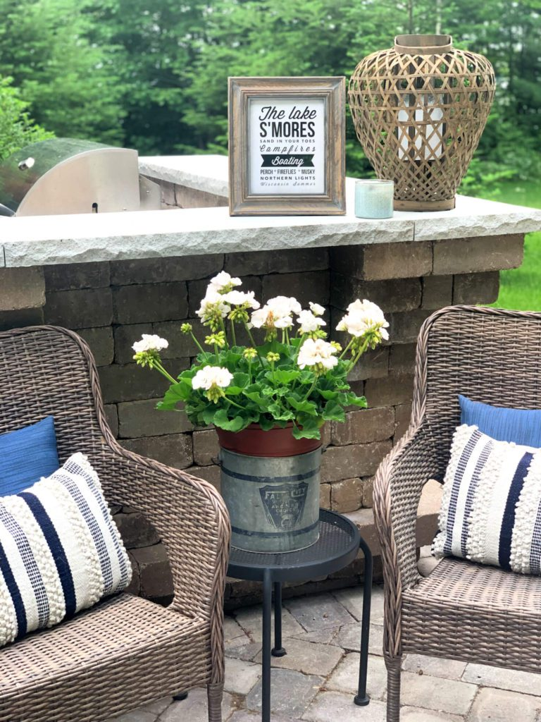 Welcome Home Saturday: Backyard patio remodeling project