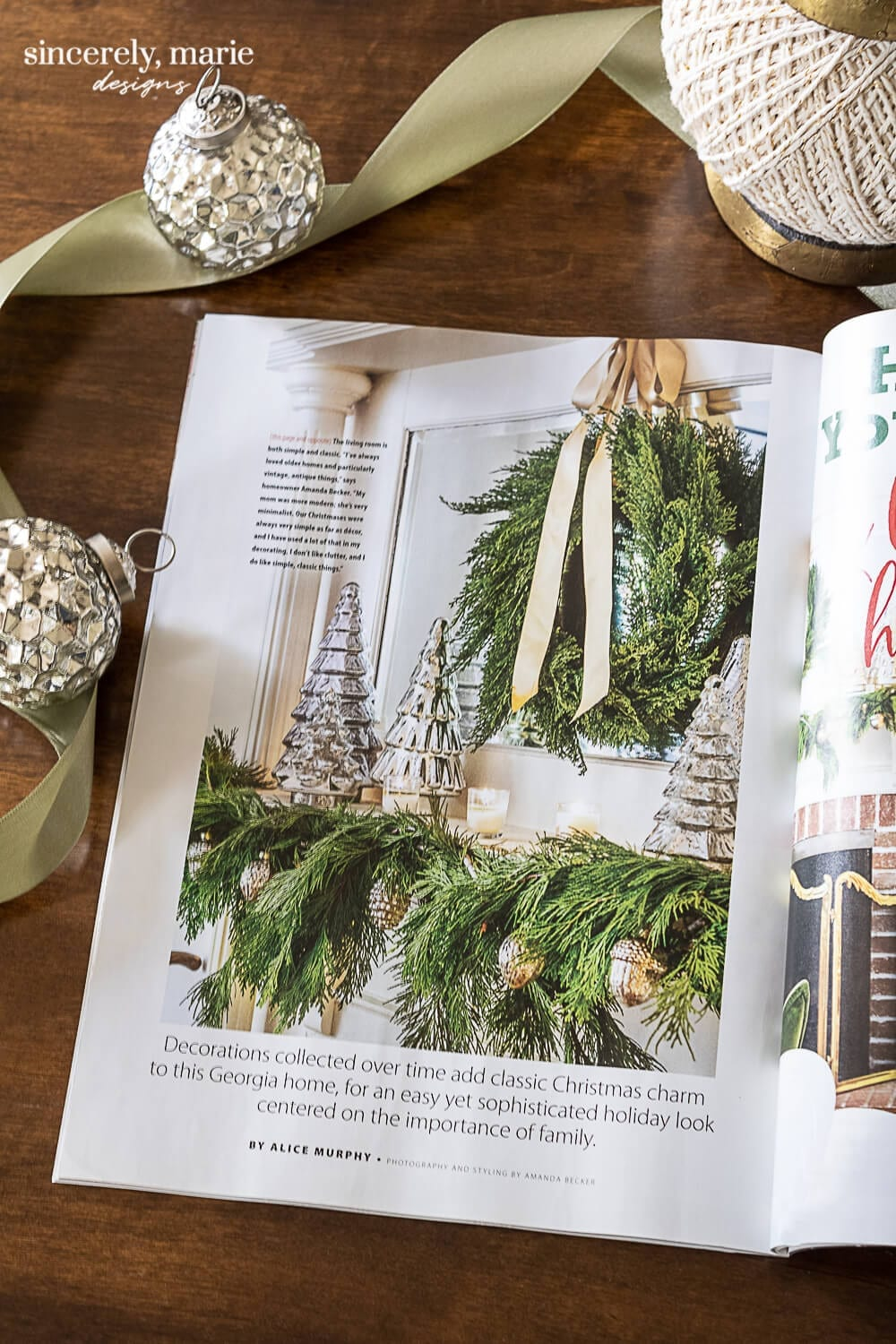 Welcome Home Sunday: Christmas Magazine Feature