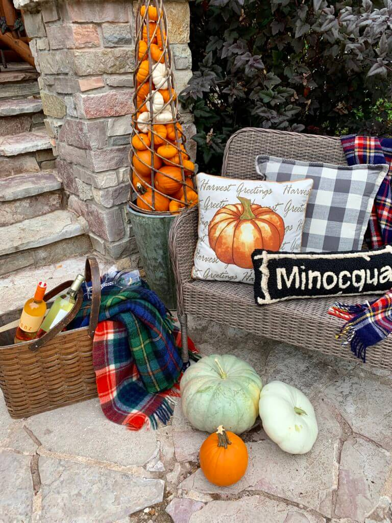Welcome Home Saturday: Fall porch gives curb appeal