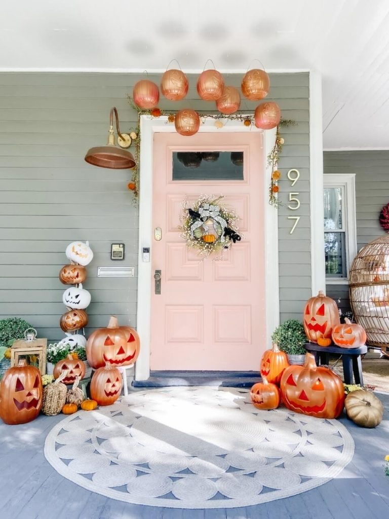 Welcome Home Saturday: The Great Pumpkin Porch