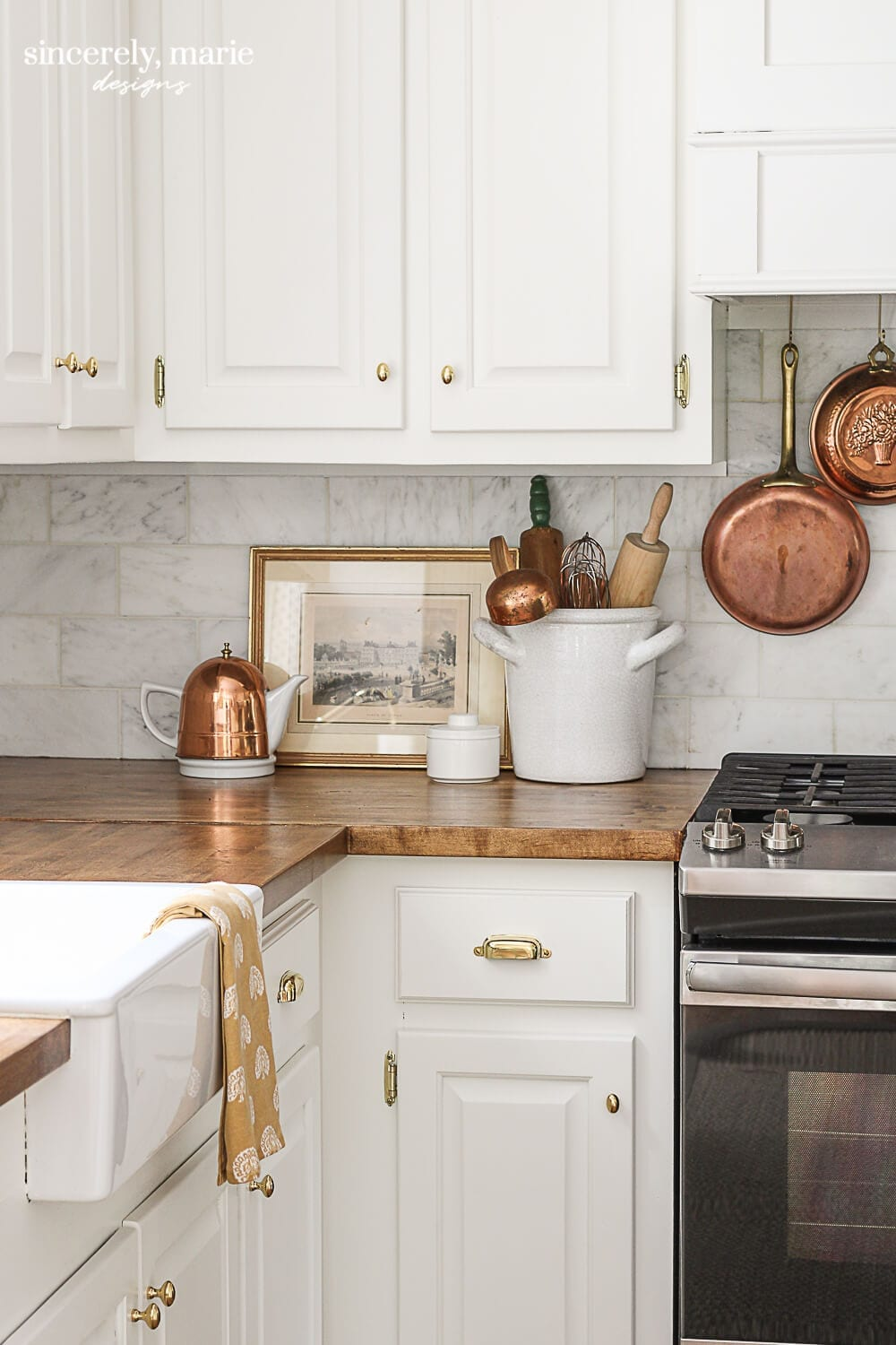 Welcome Home Sunday: How to refinish butcher block countertops