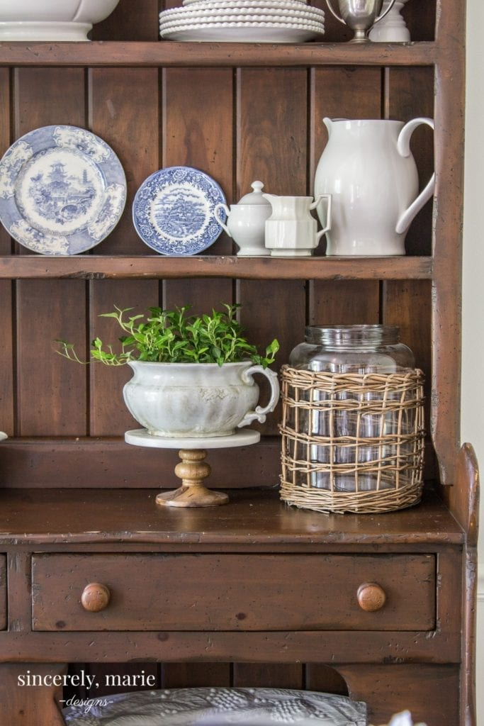 Welcome Home Sunday: An old Irish hutch, our curbside find!