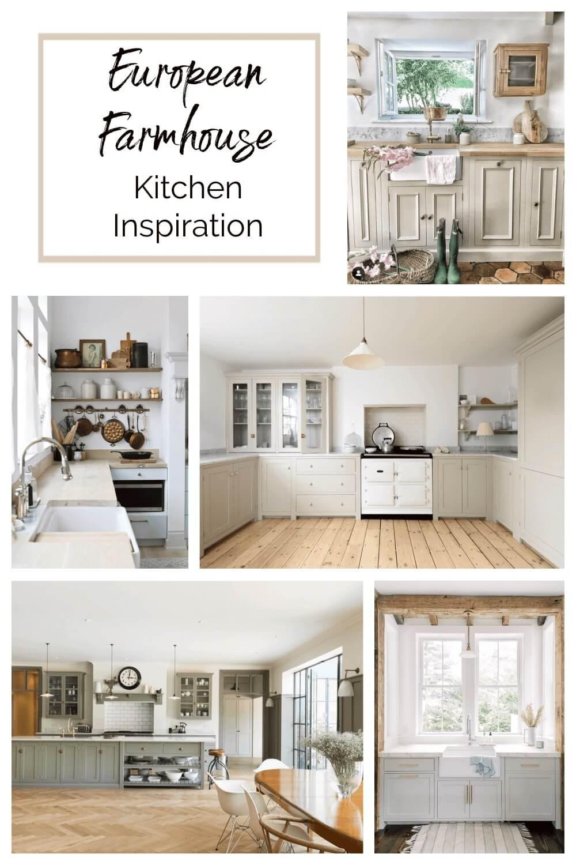 Welcome Home Saturday: European Farmhouse Kitchen Inspiration