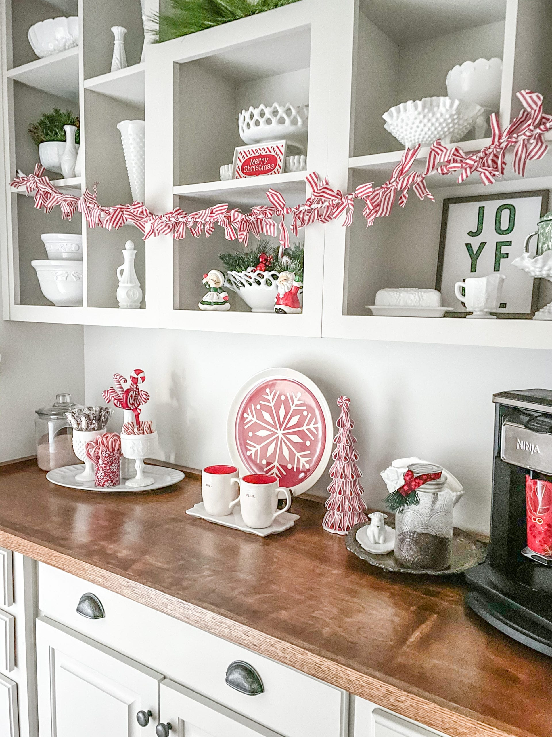 A Coffee and Hot Cocoa Bar
