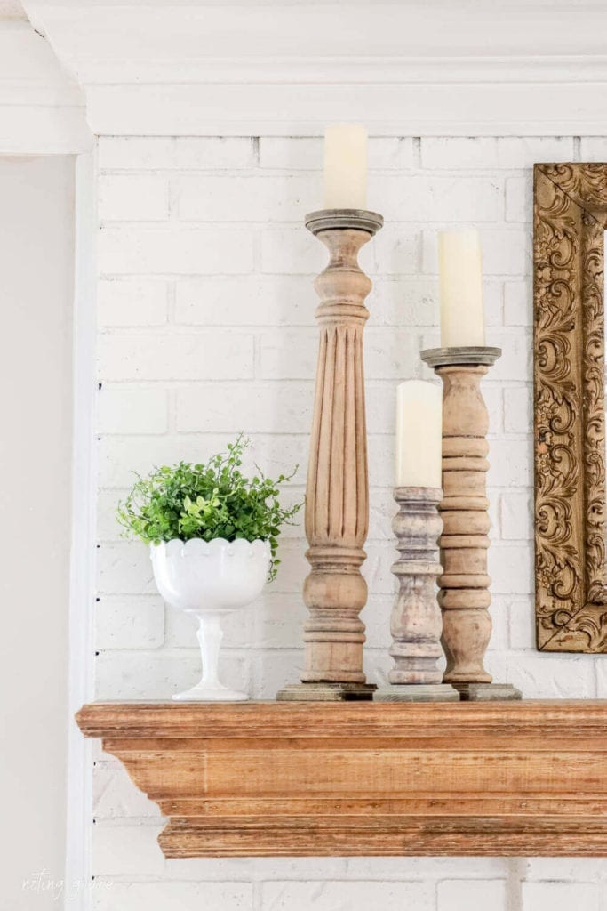 Welcome Home Saturday: DIY Candlesticks From Old Bedposts