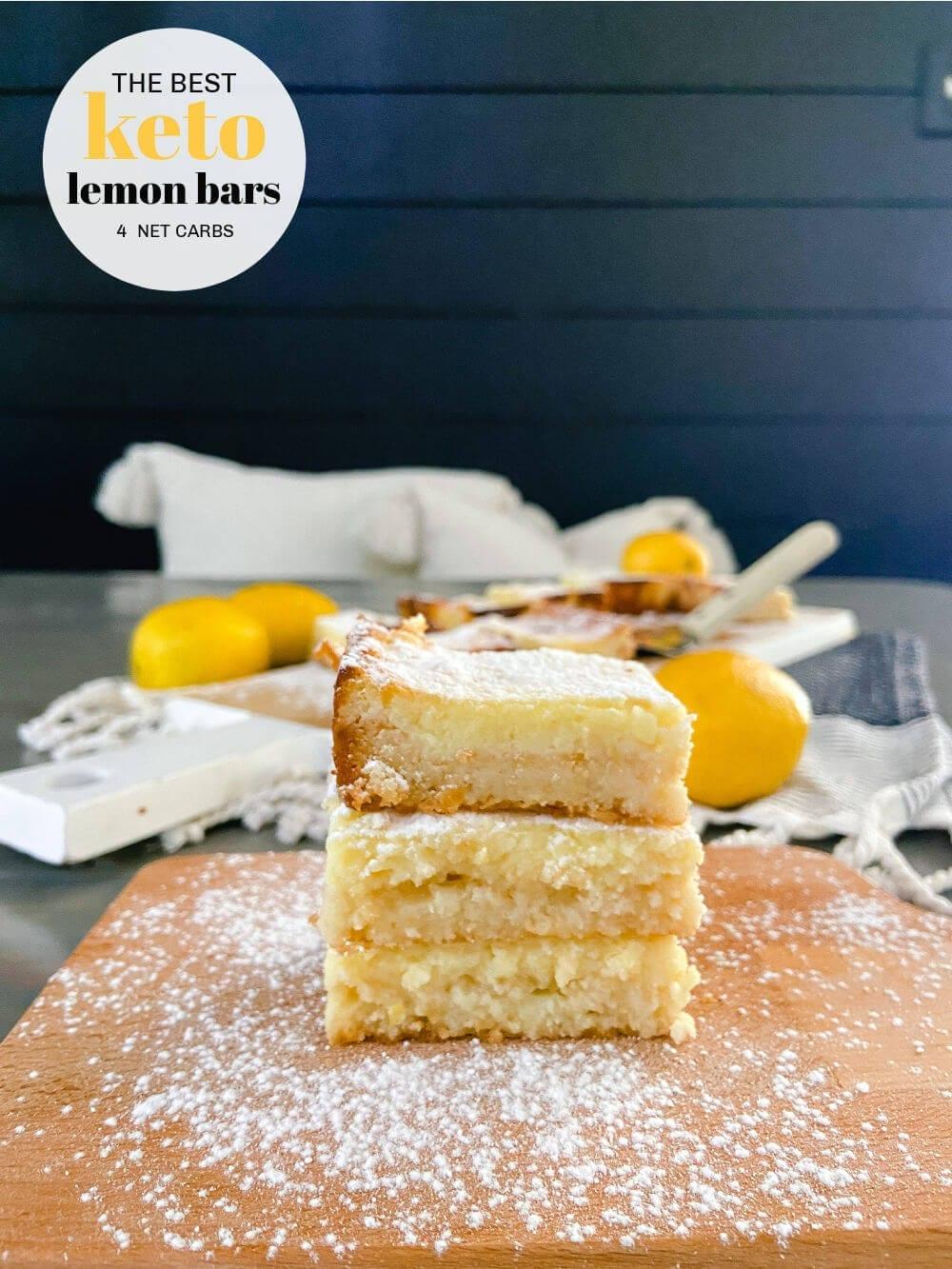 Welcome Home Saturday: Keto Lemon Bars