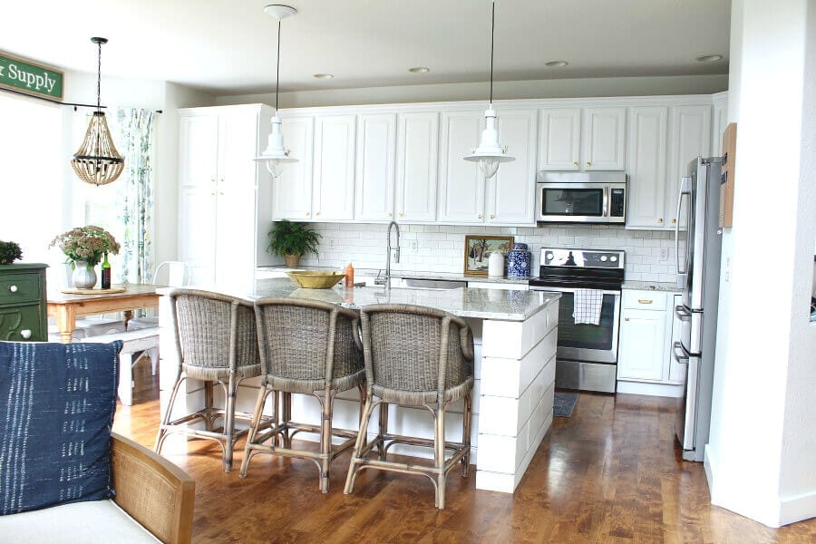 Come read why refinishing your kitchen cabinets is a good idea!