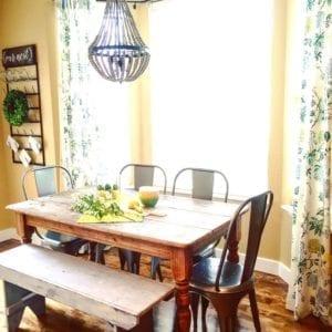 Kitchen table nook