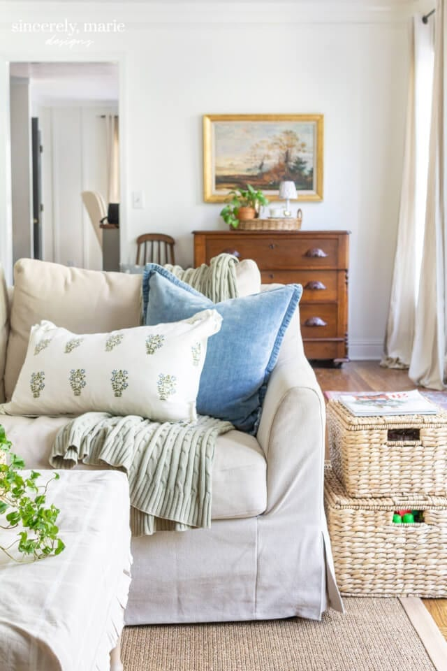 Welcome Home Sunday: Living room refresh