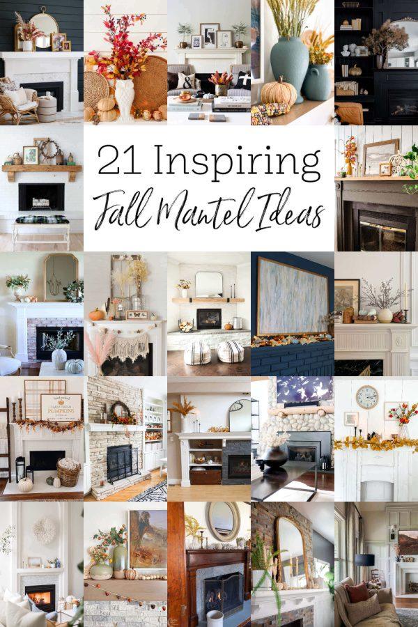 21 Inspiring Fall Mantel Ideas