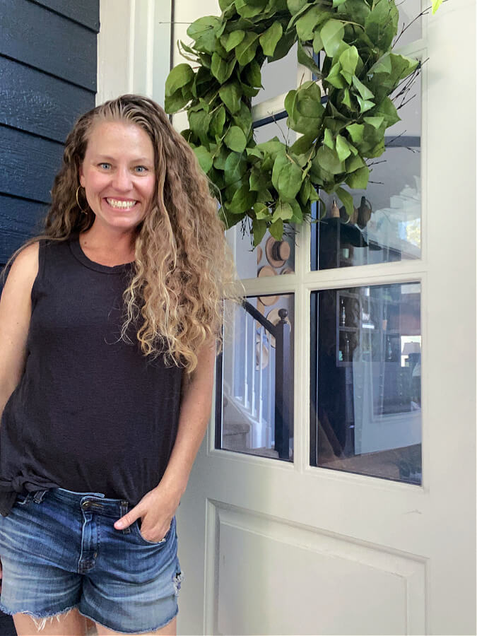 Kelly from The Tattered Pew..welcome to our casual summer home tour!