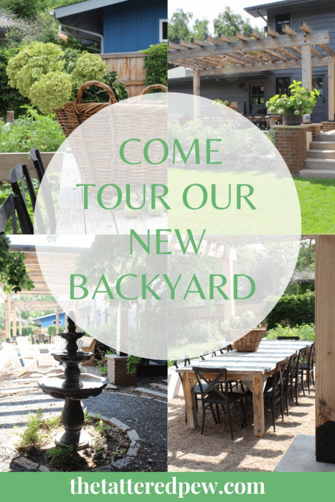 Come tour our new backyard!