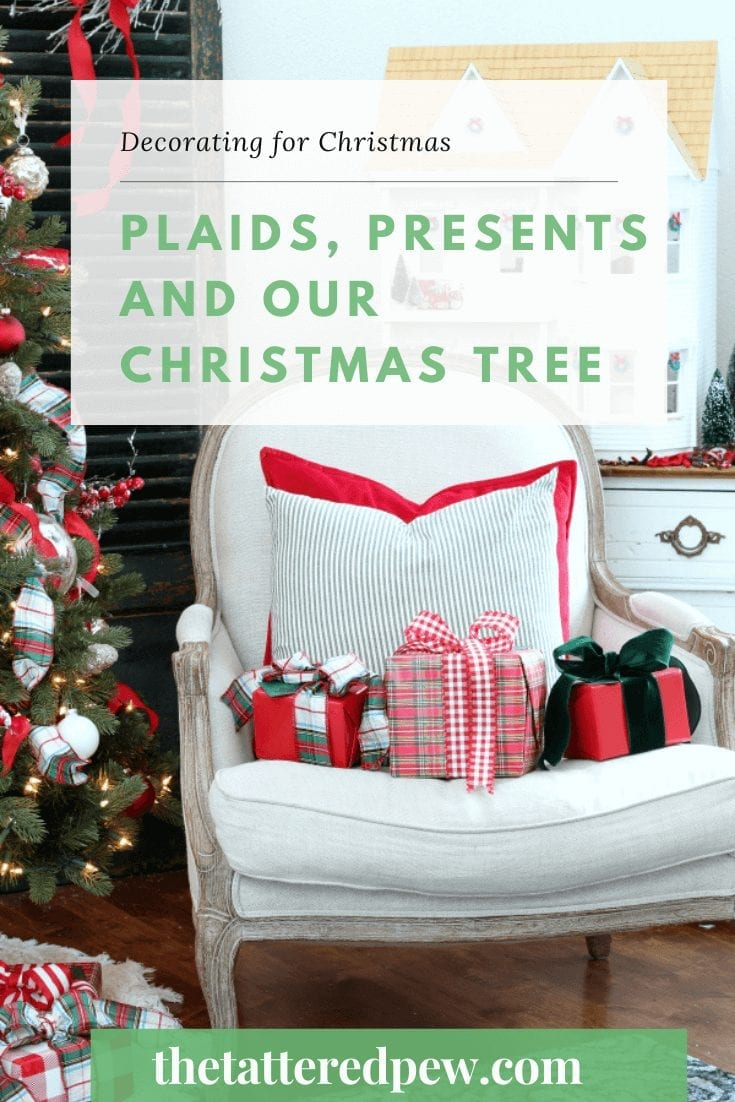 Come take a tour of our Christmas tree !