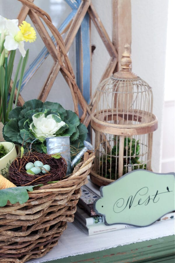 A nest for Spring decor!